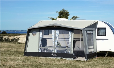 Isabella Magnum 400 Awning 2020 - Flint  - Click to view a larger image
