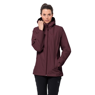 Jack Wolfskin Norrland 3 in 1 Womens Jacket  - Click to view a larger image