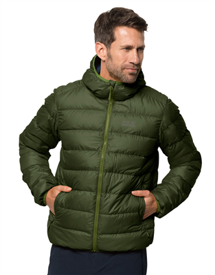 Jack Wolfskin Helium Mens Jacket Moss  - Click to view a larger image