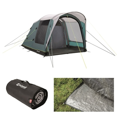 Outwell Lindale 3PA Air Tent Package Deal 2020  - Click to view a larger image