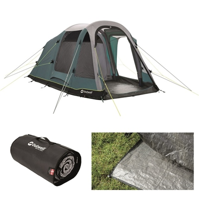 Outwell Rosedale 4PA Air Tent Package Deal 2020   - Click to view a larger image