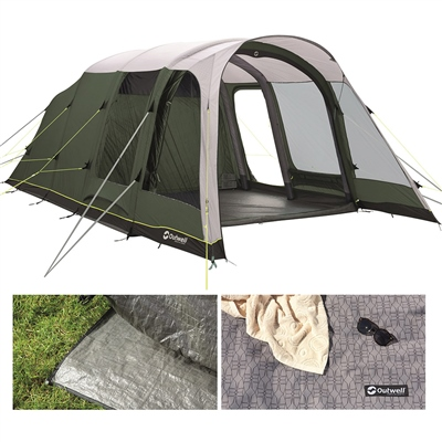 Outwell Avondale 5PA Air Tent Package Deal 2020  - Click to view a larger image