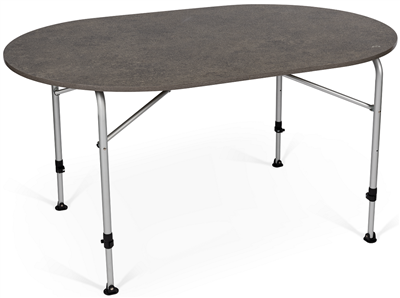 Kampa Zero Concrete Oval Table  - Click to view a larger image