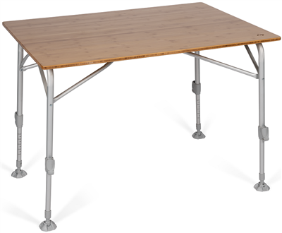 Kampa Dometic Bamboo Large Table  - Click to view a larger image
