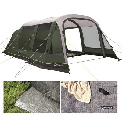 Outwell Parkdale 6PA Air Tent Package Deal 2020  - Click to view a larger image