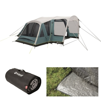 Outwell Hartsdale 4PA Air Tent Package Deal 2020  - Click to view a larger image