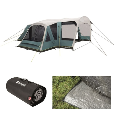Outwell Hartsdale 6PA Air Tent Package Deal 2020  - Click to view a larger image