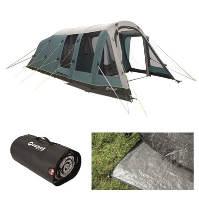 Outwell Knightdale 5PA Air Tent Package Deal 2020  - Click to view a larger image