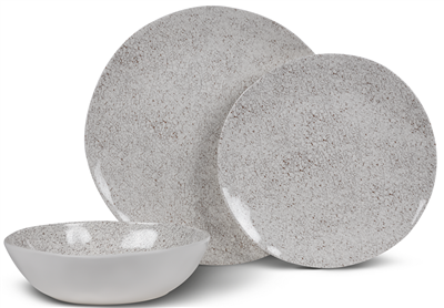 Kampa Natural Stone Dinner Set  - Click to view a larger image