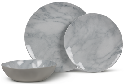 Kampa Marble Dinner Set  - Click to view a larger image