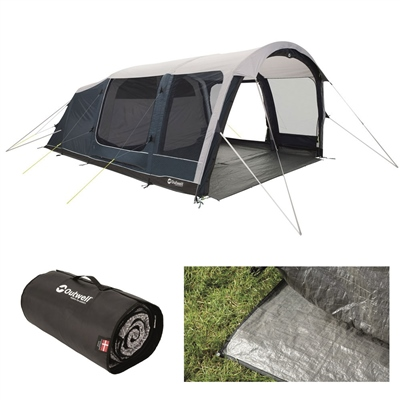 Outwell Roseville 6SA Air Tent Package Deal 2020  - Click to view a larger image