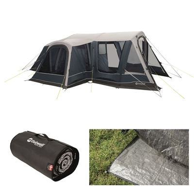 Outwell Airville 4SA Air Tent Package Deal 2020  - Click to view a larger image