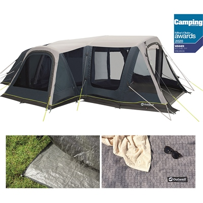 Outwell Airville 6SA Air Tent Package Deal 2020  - Click to view a larger image
