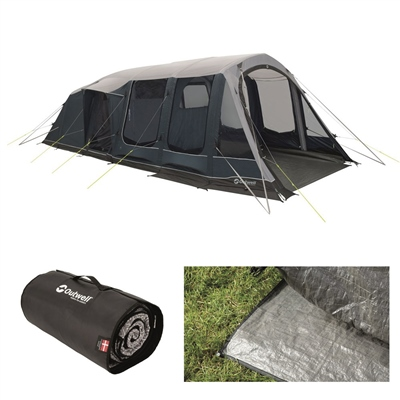 Outwell Lakeville 5SA Air Tent Package Deal 2020  - Click to view a larger image