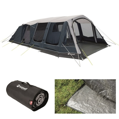 Outwell Lakeville 7SA Air Tent Package Deal 2020  - Click to view a larger image