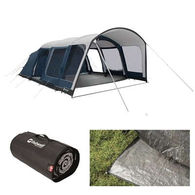 Outwell Rock Lake 6ATC Air Tent Package Deal 2020  - Click to view a larger image
