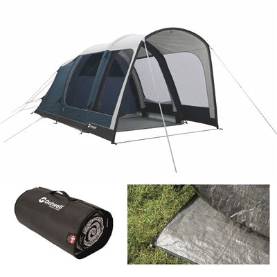 Outwell Rock Lake 3ATC Air Tent Package Deal 2020  - Click to view a larger image
