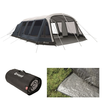 Outwell Stone Lake 7ATC Air Tent Package Deal 2020  - Click to view a larger image