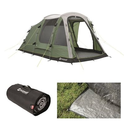 Outwell Dayton 4 Tent Package Deal 2020  - Click to view a larger image
