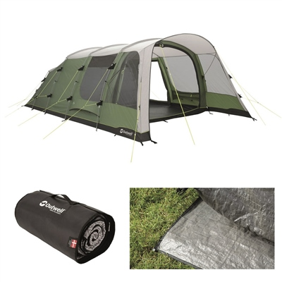 Outwell Willwood 6 Tent Package Deal 2020  - Click to view a larger image
