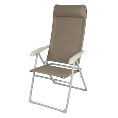 Crusader Monaco Folding Chair and Free Footrest   - Click to view a larger image