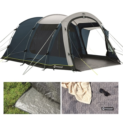 Outwell Nevada 5P Tent Package Deal 2021  - Click to view a larger image