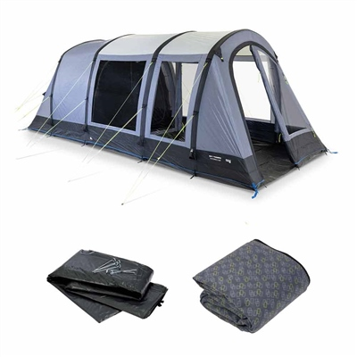 Kampa Dometic Wittering 4 Air Tent Package 2020  - Click to view a larger image