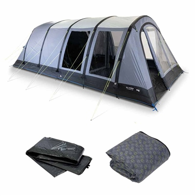 Kampa Dometic Wittering 6 Air Tent Package 2020  - Click to view a larger image
