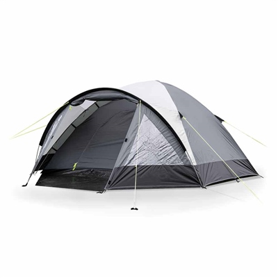 Kampa Dometic Brighton 4 Tent 2020 - Grey  - Click to view a larger image