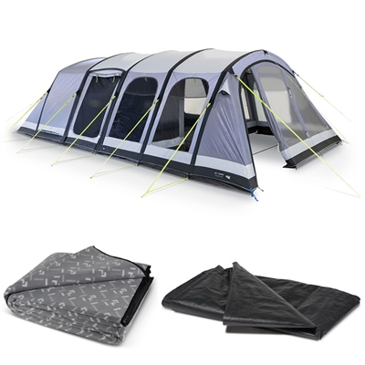 Kampa Dometic Studland 6 Air Tent Package 2020 1