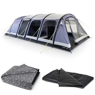 Kampa Studland 8 Air Tent Package 2020  - Click to view a larger image