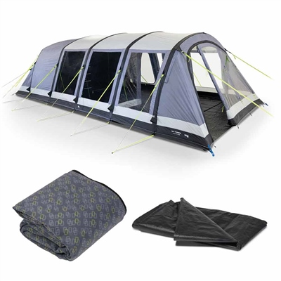 Kampa Dometic Croyde 6 Air Tent Package 2020  - Click to view a larger image
