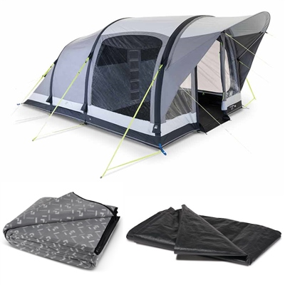Kampa Brean 4 Classic Air Tent Package 2020  - Click to view a larger image