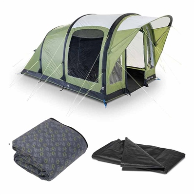 Kampa Dometic Brean 3 Air Tent Package 2020  - Click to view a larger image