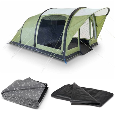 Kampa Dometic Brean 4 Air Tent Package 2020  - Click to view a larger image