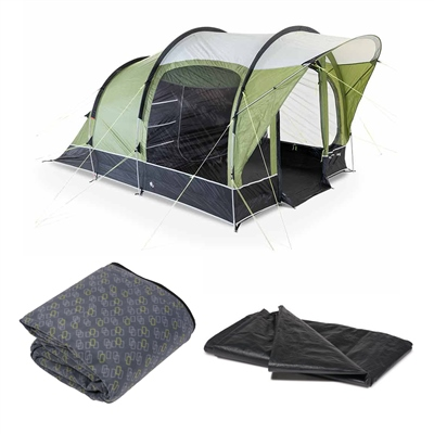 Kampa Dometic Brean 3 Tent Package 2020  - Click to view a larger image