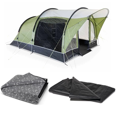 Kampa Dometic Brean 4 Tent Package 2020  - Click to view a larger image