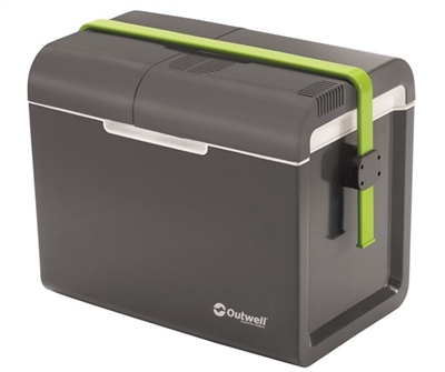 Outwell ECOcool Coolbox Slate Grey 35L 12V/230V  - Click to view a larger image