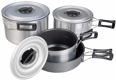 Kampa Munch Cookset   - Click to view a larger image