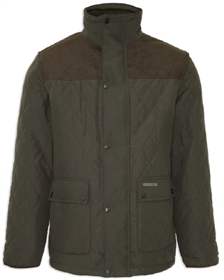 Champion Lewis Mens Quilted Jacket Olive  - Click to view a larger image