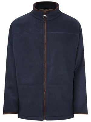 Champion Berwick Mens Fleece Jacket Navy  - Click to view a larger image