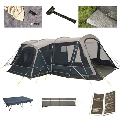 Outwell Bayland 6P Ultimate Tent Package Deal  - Click to view a larger image
