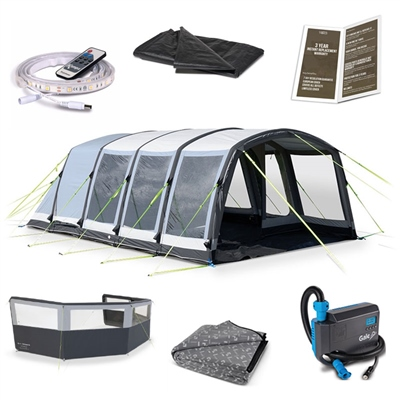 Kampa Dometic Hayling 6 Air Ultimate Tent Package Deal  - Click to view a larger image
