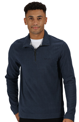 Regatta Elgor II Mens Half Zip Fleece Navy 2021 1