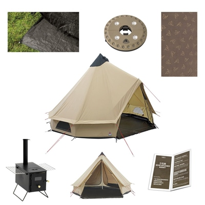 Robens Klondike Ultimate Tipi Package Deal  - Click to view a larger image