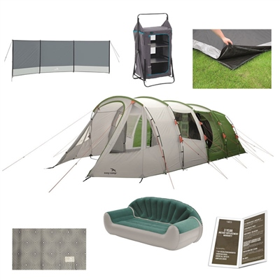 Easy Camp Palmdale 600 Lux Ultimate Tent Package Deal  - Click to view a larger image