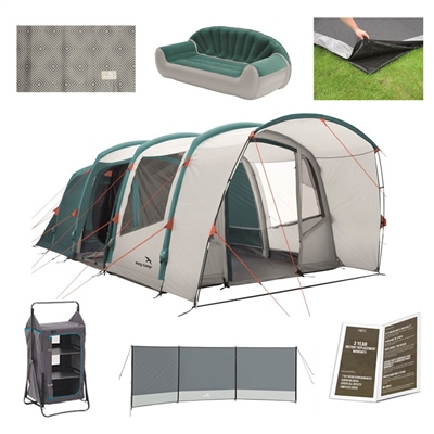 Easy Camp Match Air 500 Ultimate Tent Package Deal  - Click to view a larger image