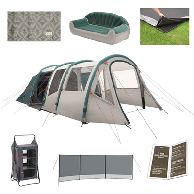 Easy Camp Arena Air 600 Ultimate Tent Package Deal  - Click to view a larger image