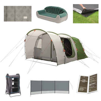 Easy Camp Palmdale 500 Ultimate Tent Package Deal  - Click to view a larger image