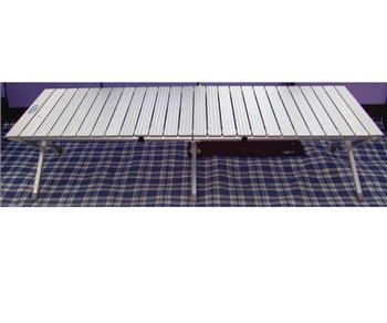 Khyam Aluminium Deluxe Folding Camp Bed  - Click to view a larger image